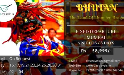 Bhutan 7 nights 8 days package