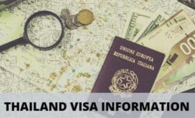 Thailand visa application