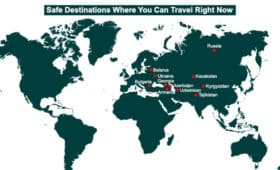 11 Destination you can visiting without worrying about the coronavirus