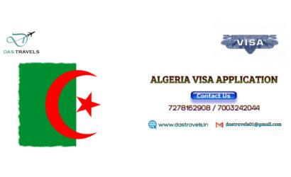 Algeria VISA APPLICATION
